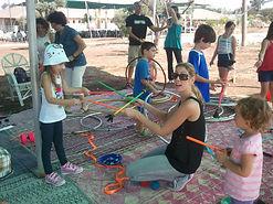 סדנת ג'אגלינג, פעילות אטרקציה לילדים בצפון
