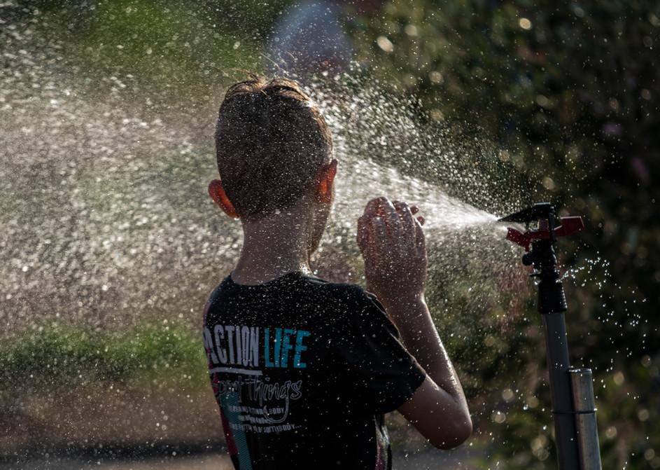 פעילות מים בחוץ בטבע