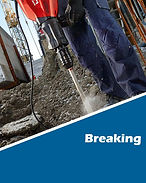 Breaker hire UK, Hydraulic breaker hire uk