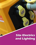 Site Electrics Hire UK, Lighting hire UK, Transformer hire UK