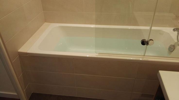 Remplacement d'une baignoire