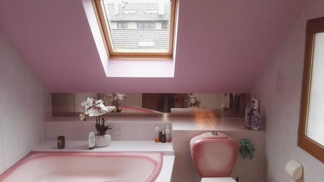 L'ancienne salle de bain