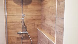 Muret dans douche