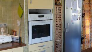Bâti dans une cuisine