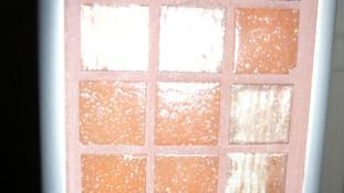Mosaïque en pâte de verre