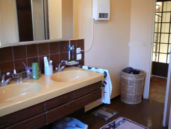 La salle de bain d'avant la rénovation
