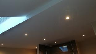 Plafond suspendu de grande dimension