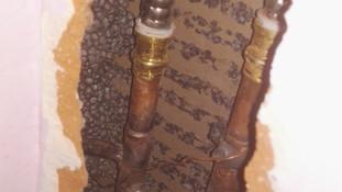 Raccordement anciens et nouveaux tuyaux
