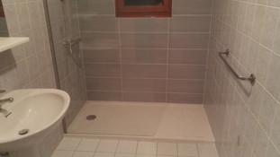 Remplacement d'une baignoire par une douche