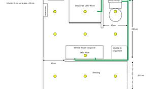 Plan Agencement salle de bain
