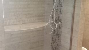 Création de salle de bain en sous-sol