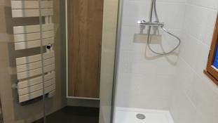 Création d'un espace douche