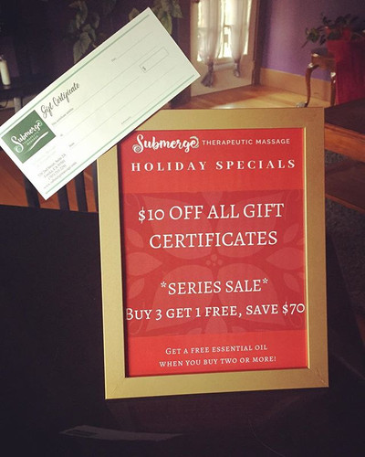 Check out our Holiday Specials!! You can