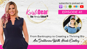 Heidi Easley: From Bankruptcy to Creating a Thriving Biz