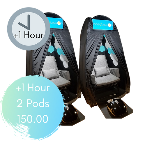 1 additional hour for 2 pods