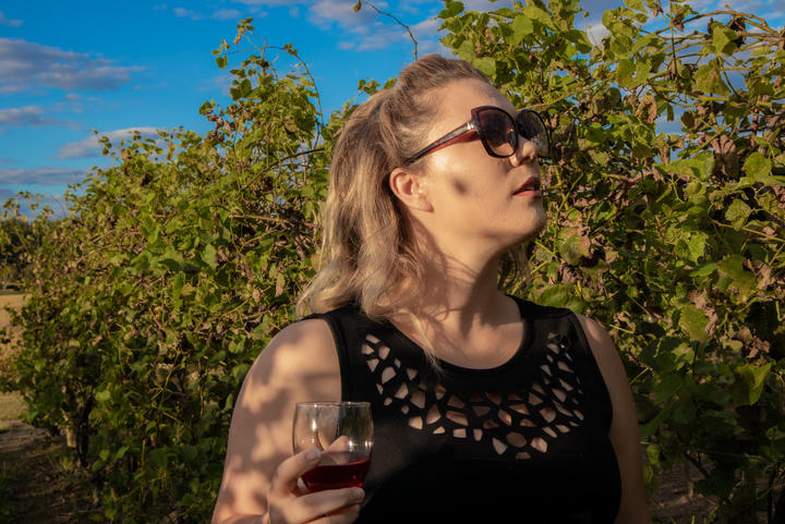 Walking Among the Vines