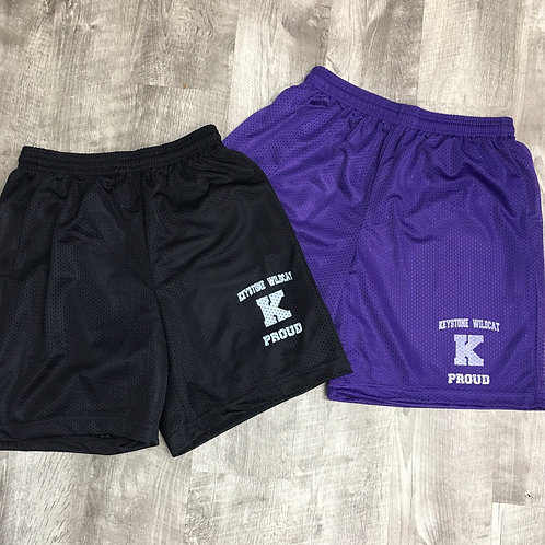 Keystone Youth and Adult Mesh Shorts