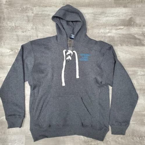 SLG Lace-Up Sweatshirt