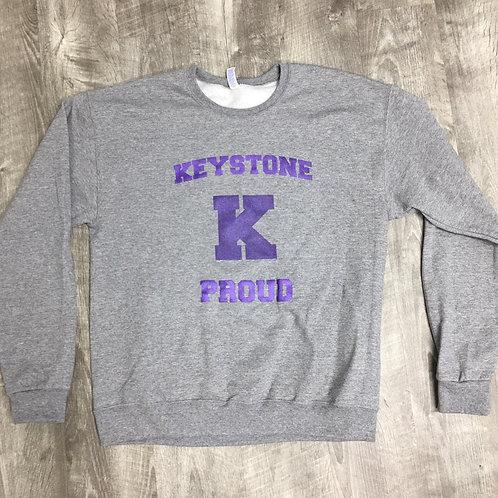 Keystone Youth and Adult Crew Neck Sweatshirt