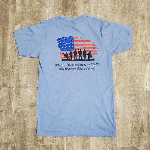 15:13 Unisex Flag Color T-Shirt