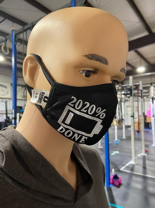 2020% Done Face Mask