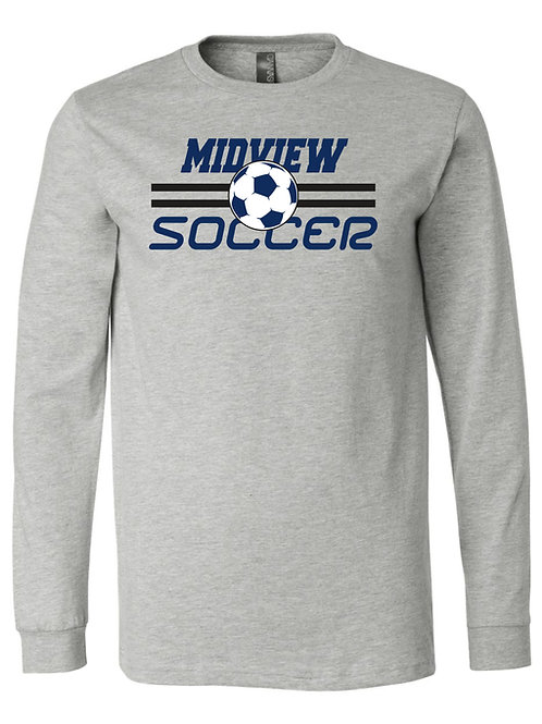 MSL Long Sleeve Gray T-Shirt Youth & Adult