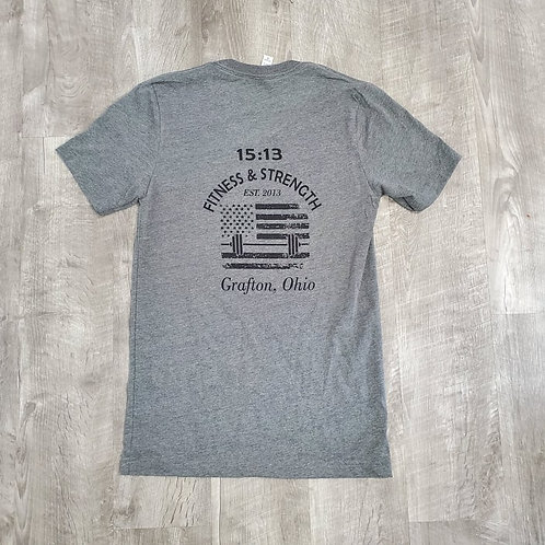 15:13 Unisex Flag T-Shirt