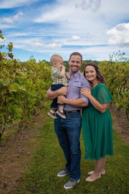Family in the Vineyard