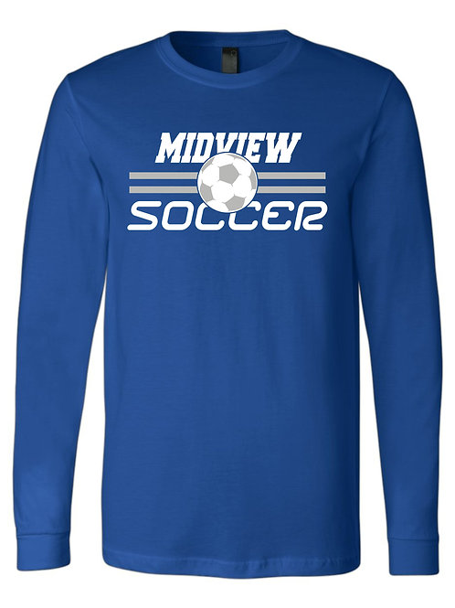 MSL Long Blue Sleeve T-Shirt Youth & Adult