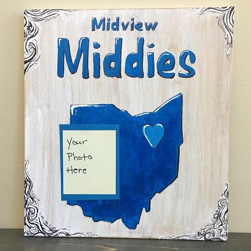 Custom Photo Midview Sign