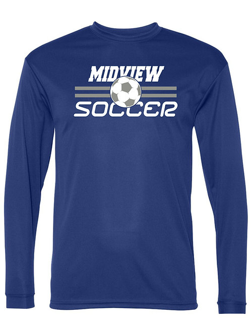MSL Long Sleeve Performance Moisture Wicking Shirt