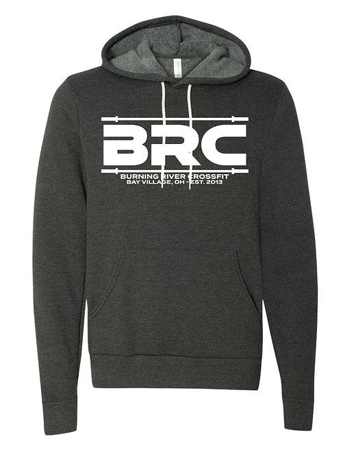 BRC Unisex Hoodie Dark Gray Barbell
