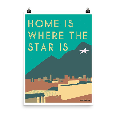 18x24 Home Poster