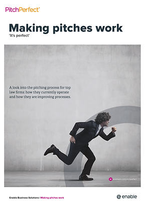 Read how top law firms manage their pitch process