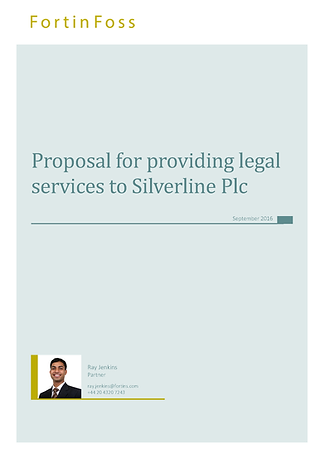 Custom cover pages to match your law firm brand guidelines