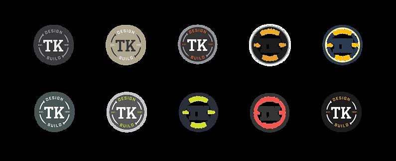 TK DesignBuild Logo v2 color exlorations