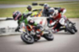 group racing mini bikes