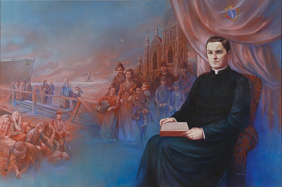 Fr Michael J McGivney by Antonella Cappu