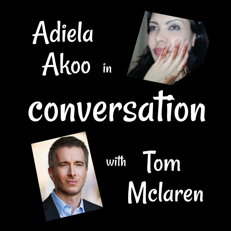 Adiela Akoo in conversation with Tom Mclaren - come join me on my blog as I chat to actor/model/author Tom Mclaren about life, acting and superpowers... and discover a few interesting things about Tom that you may not have known...