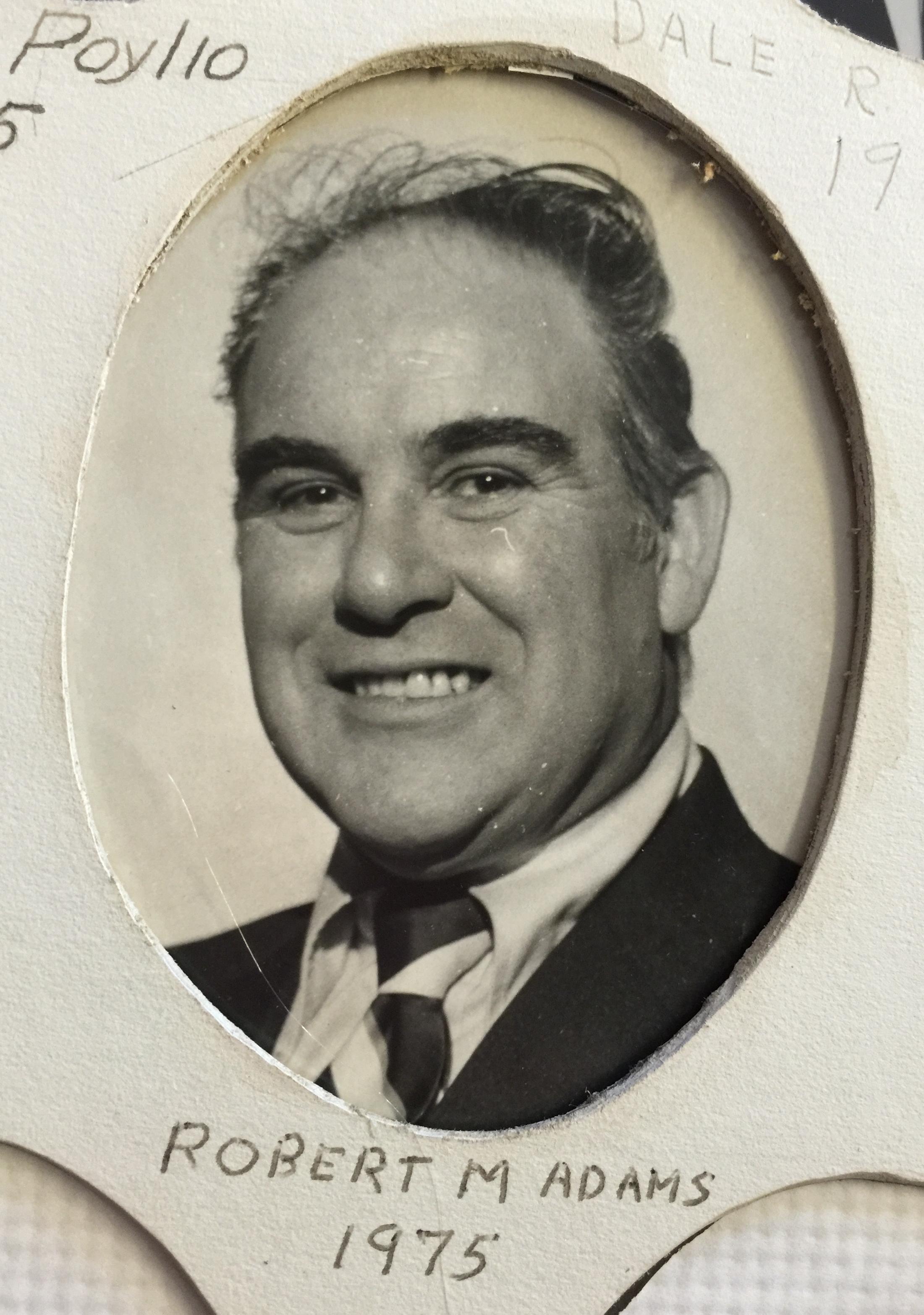 1975 Robert M. Adams