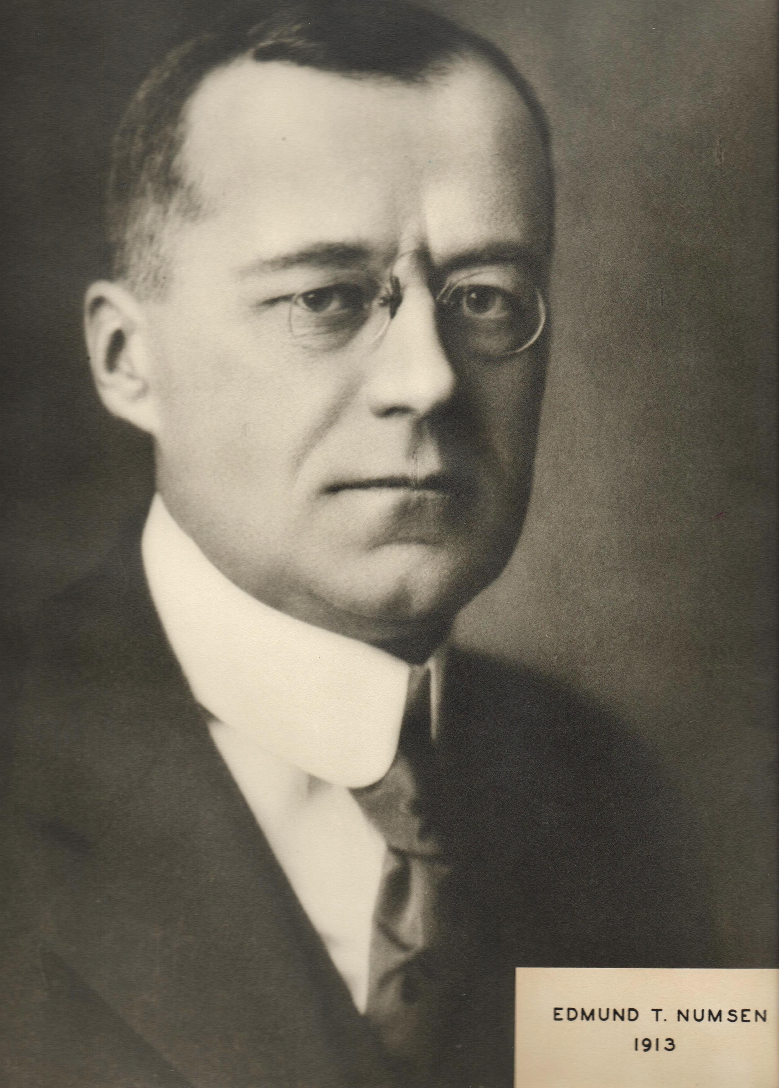 1913 Edmund T. Numsen