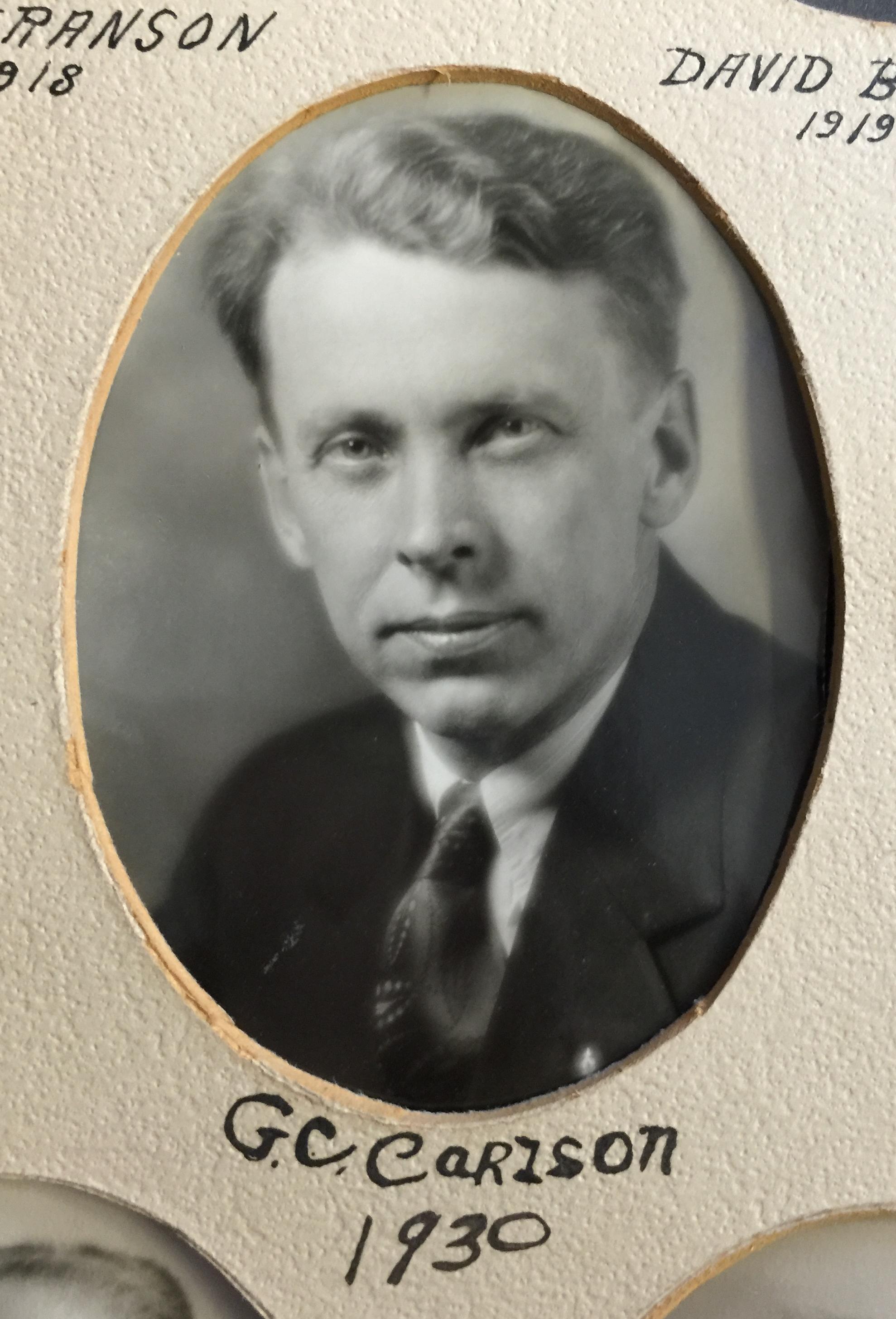 1930 G.C. Carlson