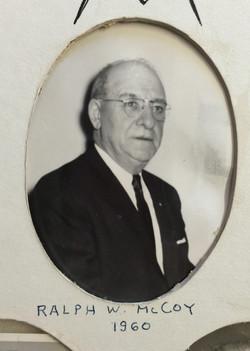 1960 Ralph W. McCoy