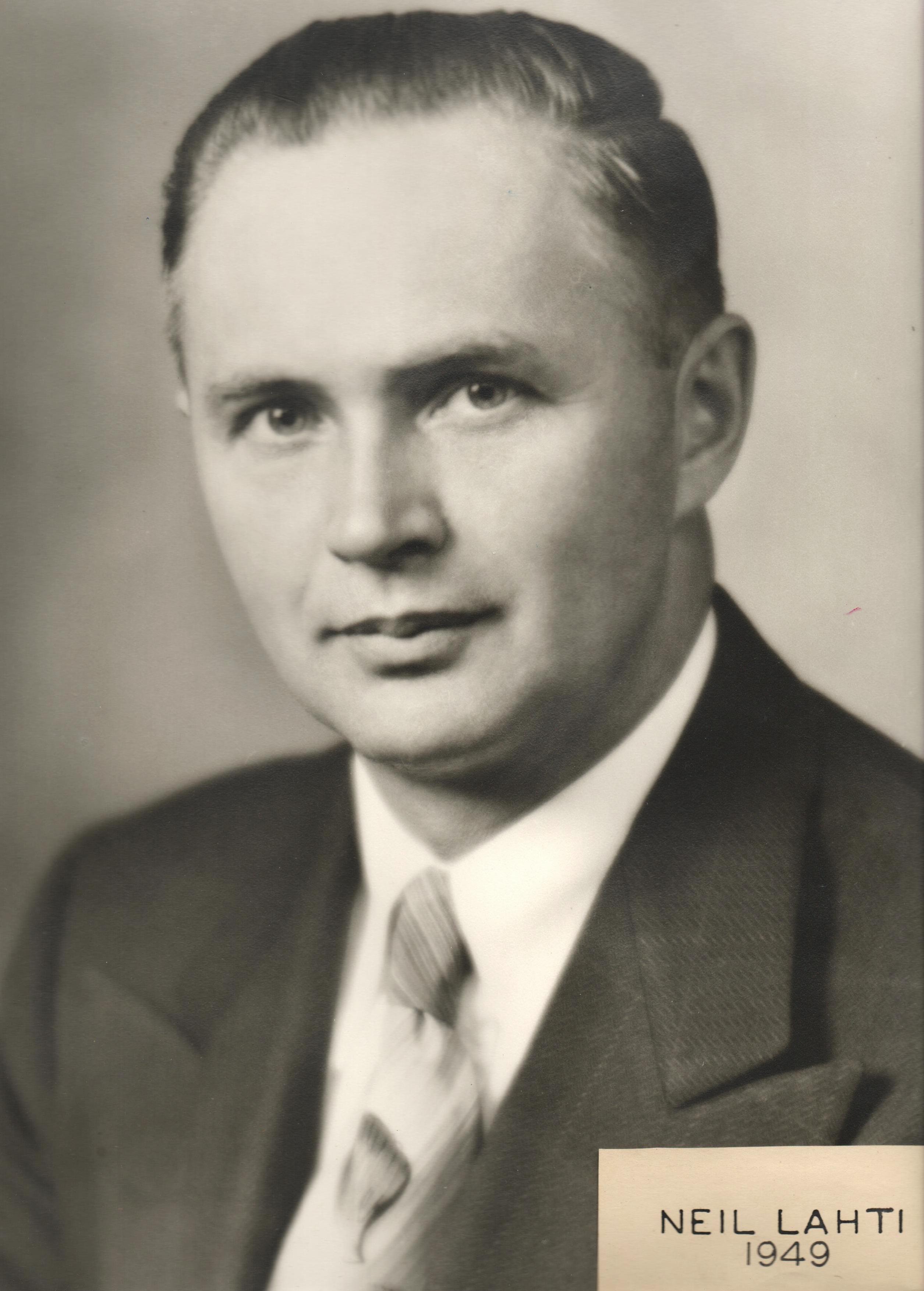 1949 Neil Lahti