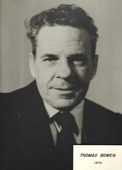 1974 Thomas Bowen