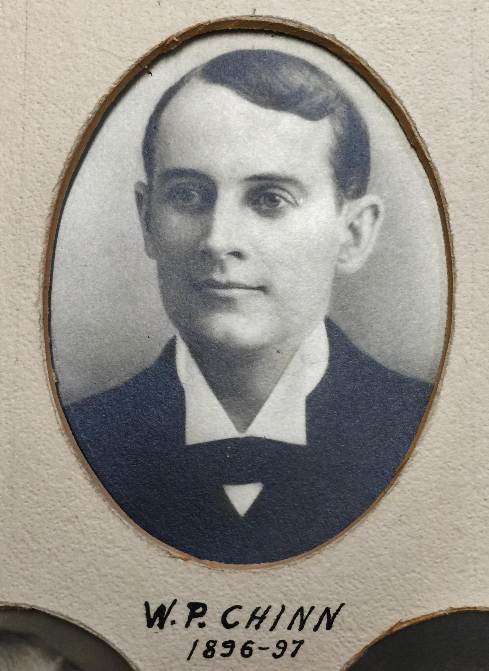 1896-1897 W.P. Chinn