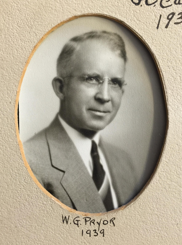 1939 W.G. Pryor