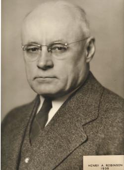 1938 Henry A. Robinson