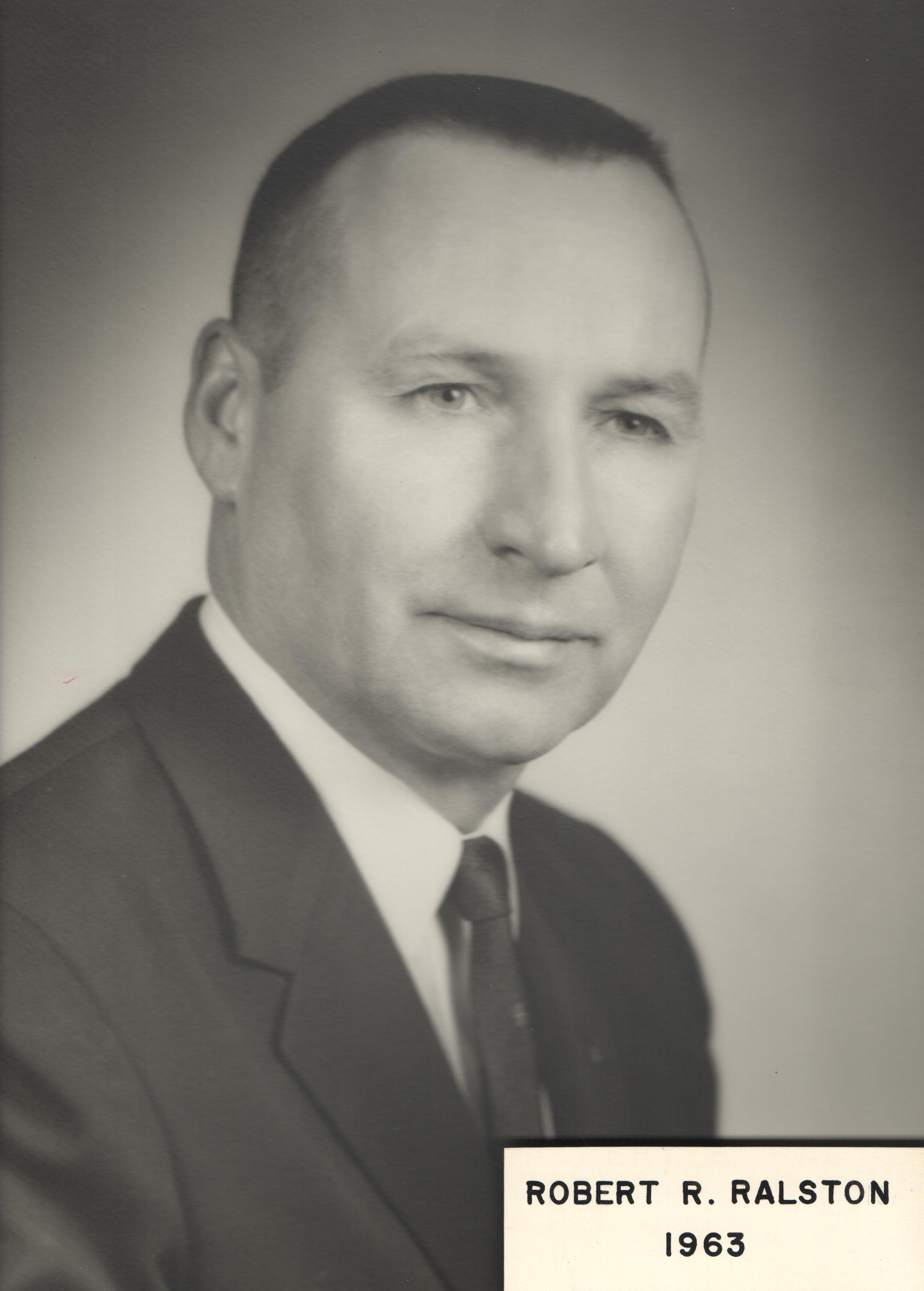 1963 Robert R. Ralston