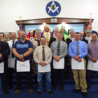 Our First Master Mason Degree